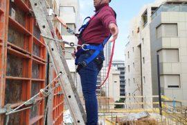 הדרכת עבודה בגובה - צמח בטיחות טלפון 0723946353